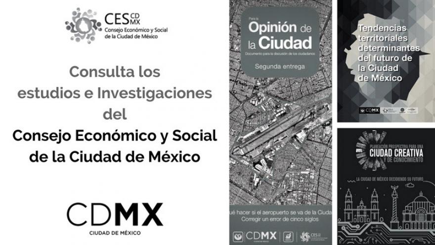 Publicaciones del CES CDMX
